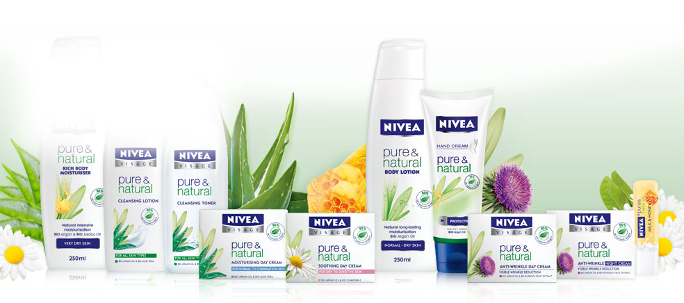 Cosmetici Nivea Pure and Natural