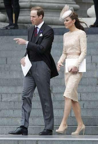 Abito in pizzo Alexander McQueen per Kate Middleton