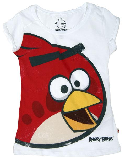 bershka t shirt angry birds bianca