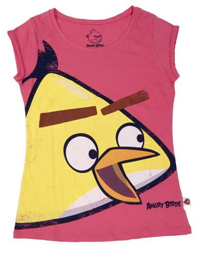 bershka t shirt angry birds