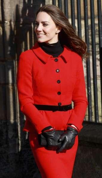 Luisa Spagnoli omaggia Kate Middleton