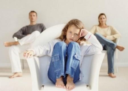 I figli di genitori separati crescono prima