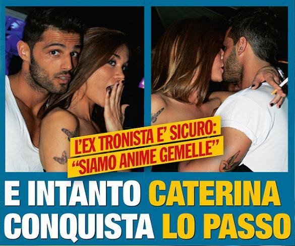 Caterina Siviero e Alessio amore