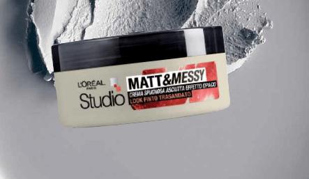 Crema Spugnosa L'Oreal Matt&Messy