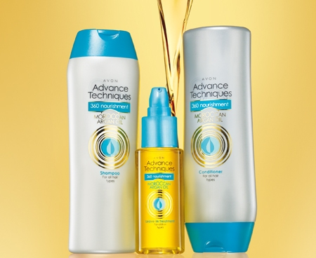 Cura dei capelli, la linea Moroccan Argan Oil di Avon