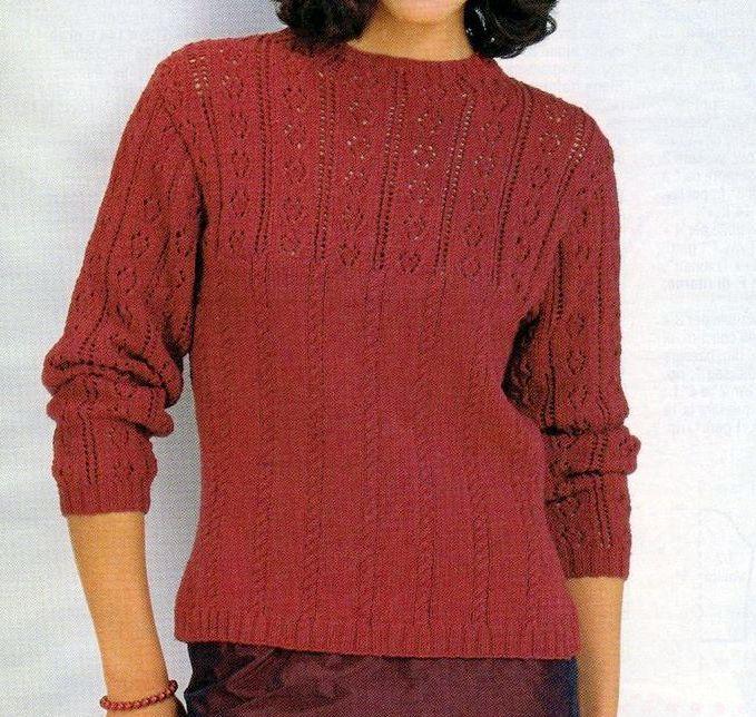 Come creare un pullover a punto treccia con i lavori a maglia