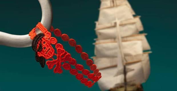 bracciali cruciani pirata
