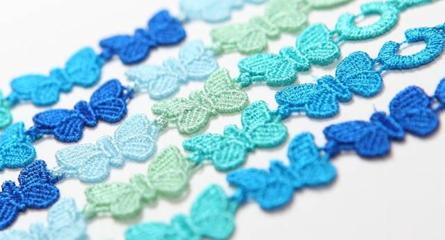 cruciani farfalle blu