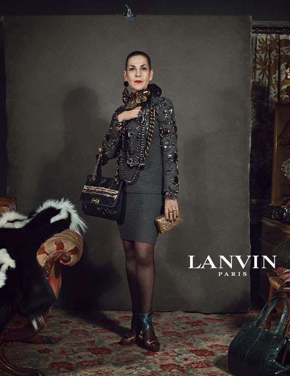 """Lanvin la campagna pubblicitaria """"unconventional"""" di Alber Elbaz con persone comuni [FOTO]"""