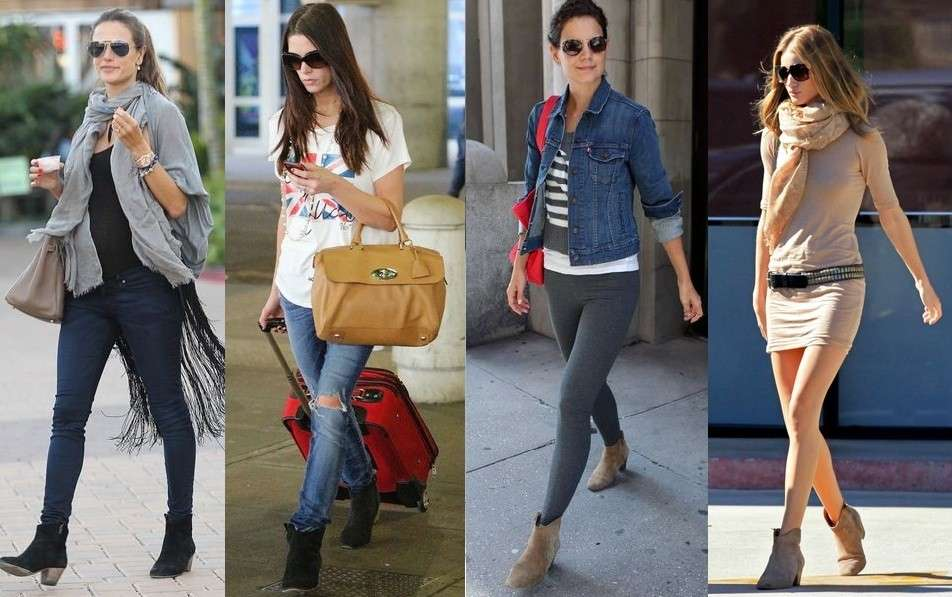 Le celebrities con le scarpe Isabel Marant