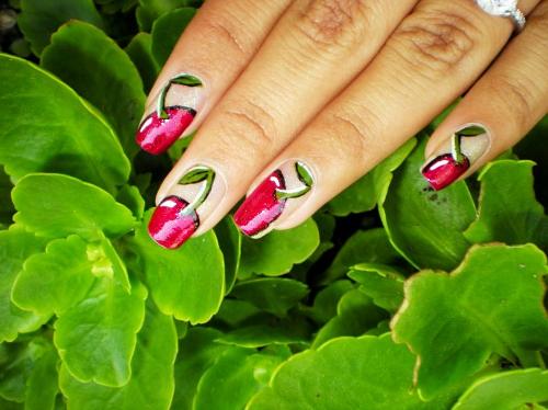 manicure estate colorata