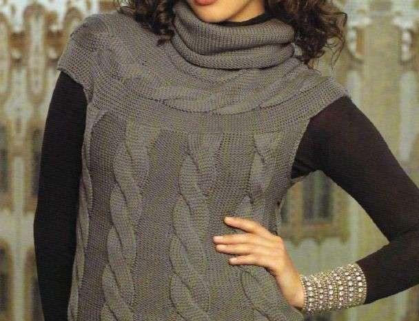 Lavori a maglia per creare un raffinato gilet ai ferri [FOTO]