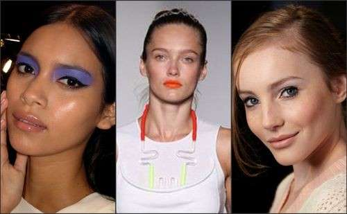 Tendenze trucco estate tra no-make up e colori fluo [FOTO]
