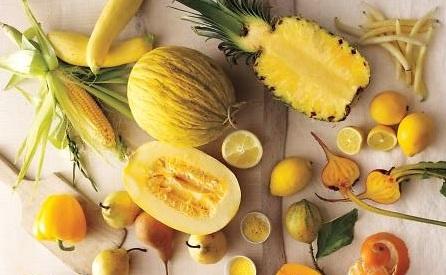 Dieta colori giallo