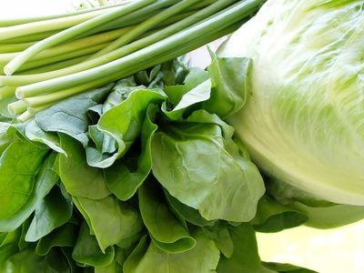 Dieta colori verde