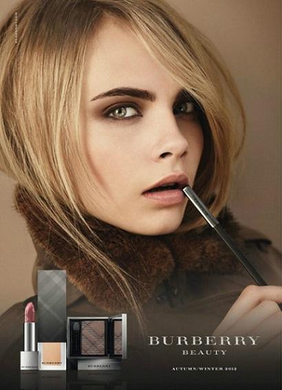 fall 2012 burberry prorsum make up