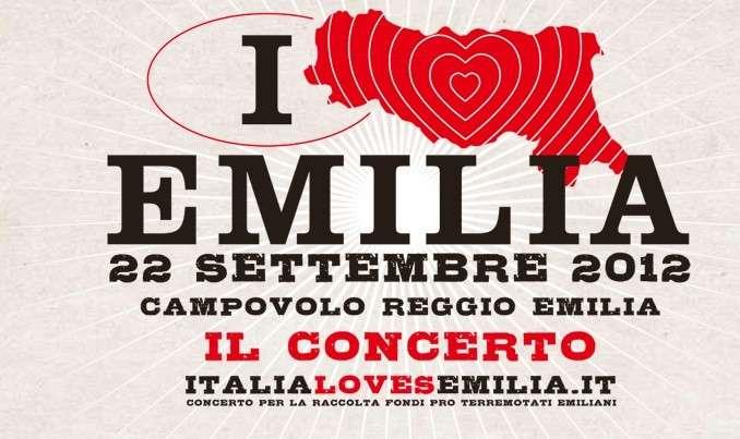 Italia Loves Emilia, il 22 settembre 2012 a Campovolo il concerto per i terremotati emiliani