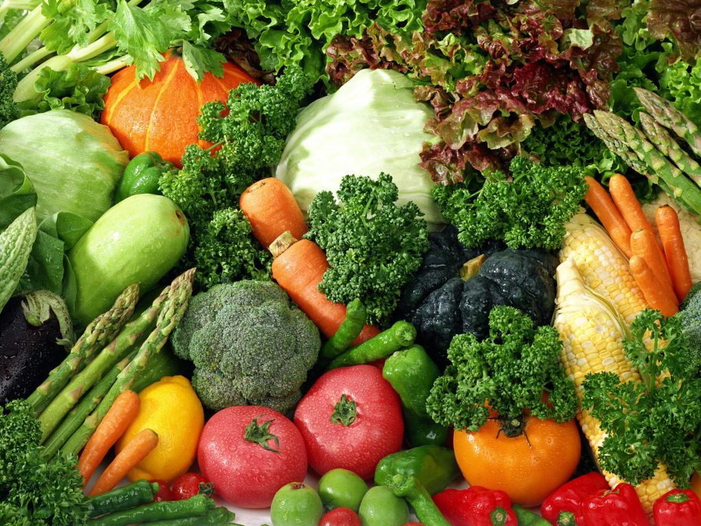 la dieta delle verdure