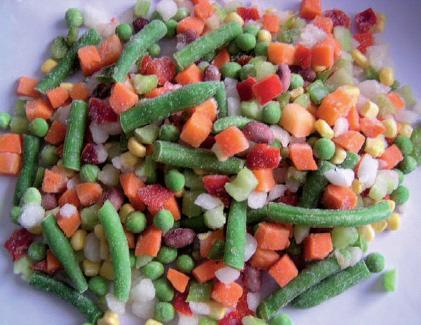 Meglio la verdura fresca o quella surgelata?