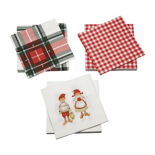 Catalogo Ikea Natale 2012 tovaglioli carta