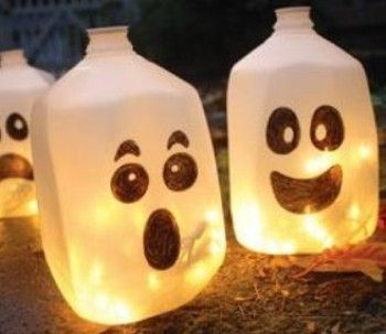 Lavoretti Halloween fantasmini