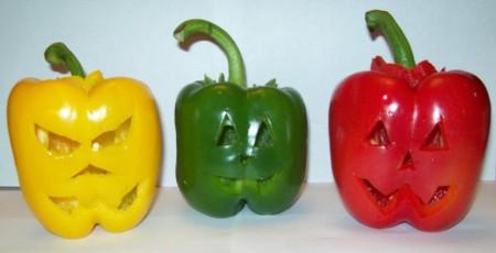 Peperoni di Halloween