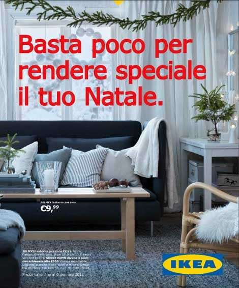 Catalogo Ikea Natale 2012, per un arredamento low cost [FOTO]