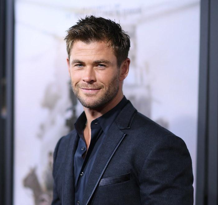 Chris Hemsworth, uomini più belli al mondo