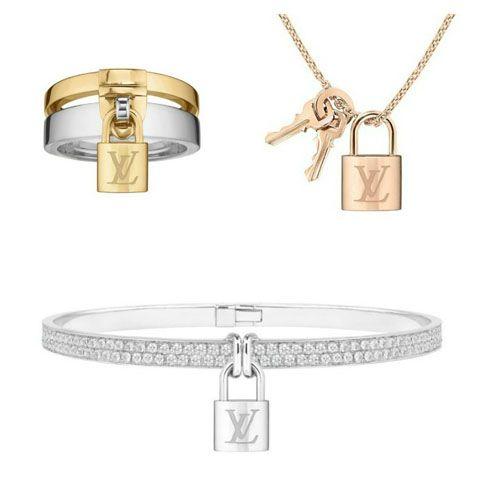 Gioielli Louis Vuitton, collezione Lockit per le innamorate