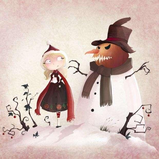 Halloween disegni da colorare [FOTO]