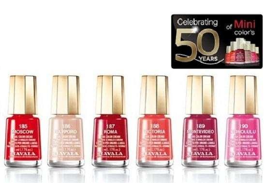 Smalti Mavala Mini Color per i 50 anni