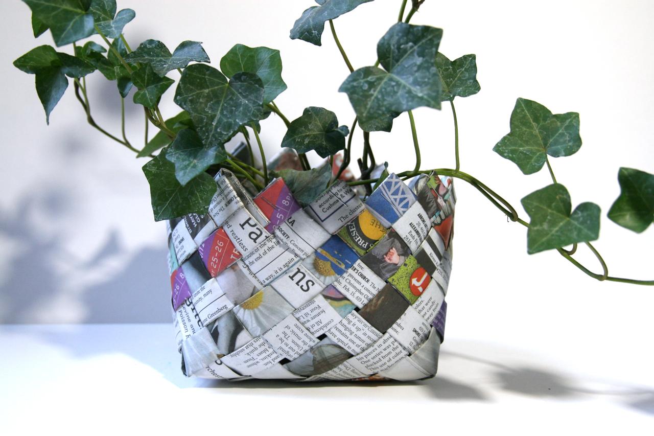 Cesti fai da te porta piante