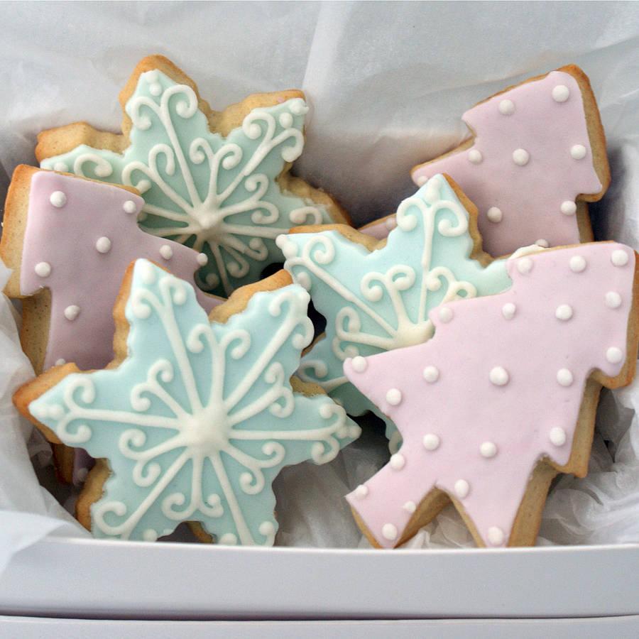 biscotti light Natale glassa colorata