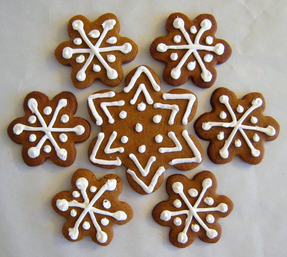 biscotti light Natale zenzero decorati