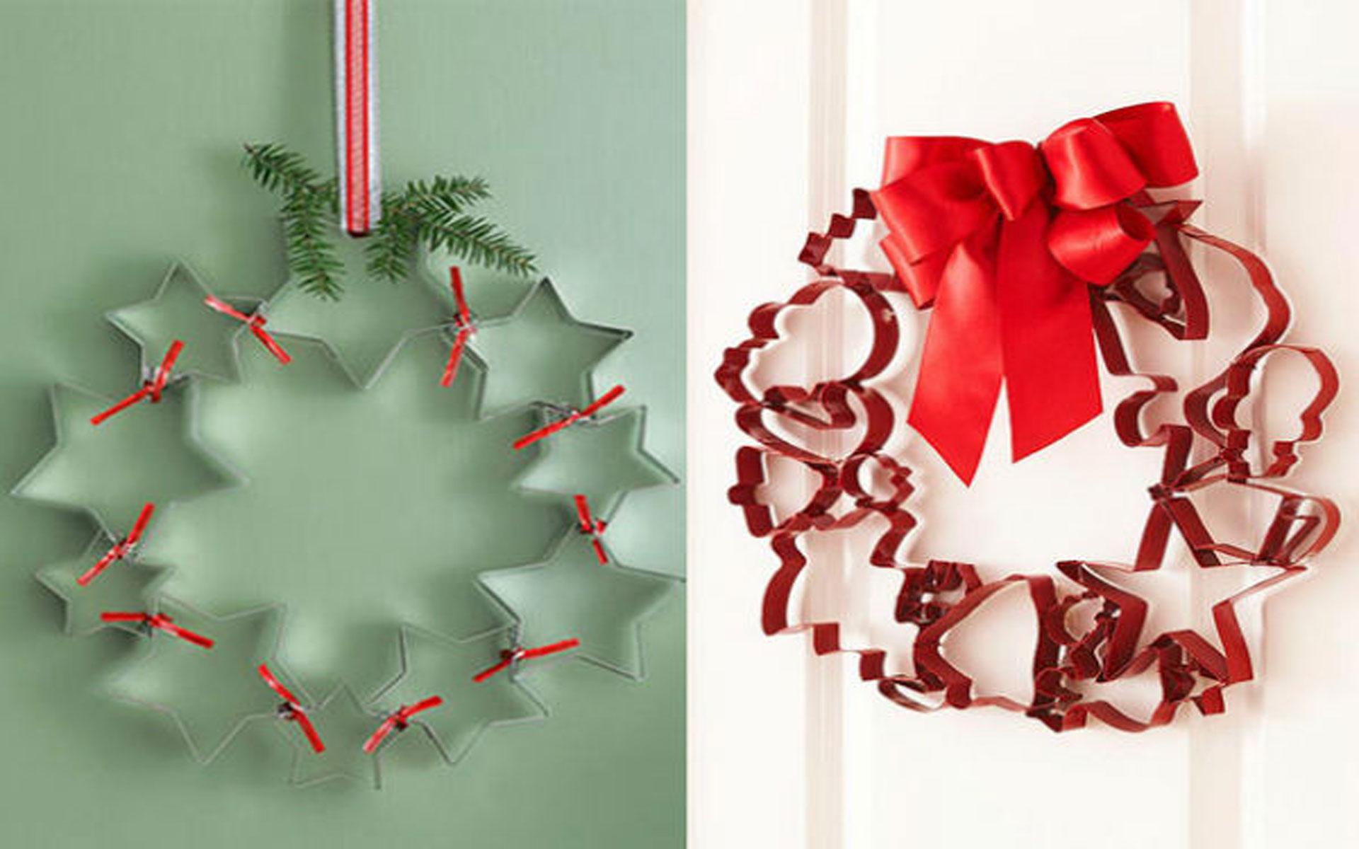 decorazioni natalizie fai da te ghirlande