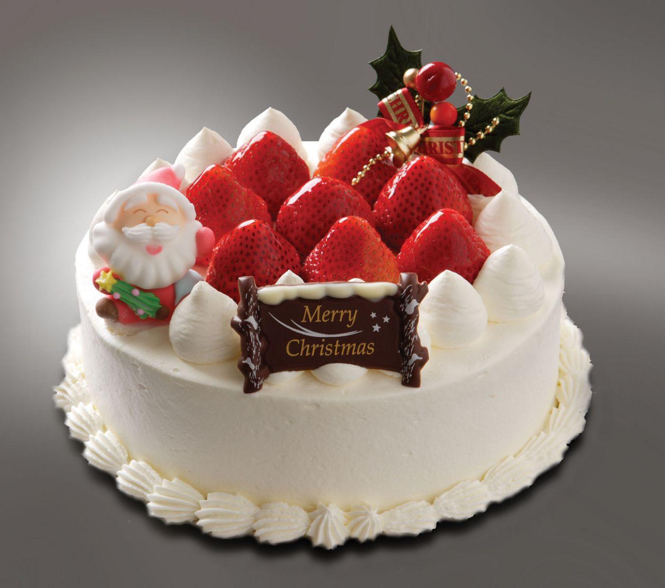 dolci di Natale calorici torta con panna