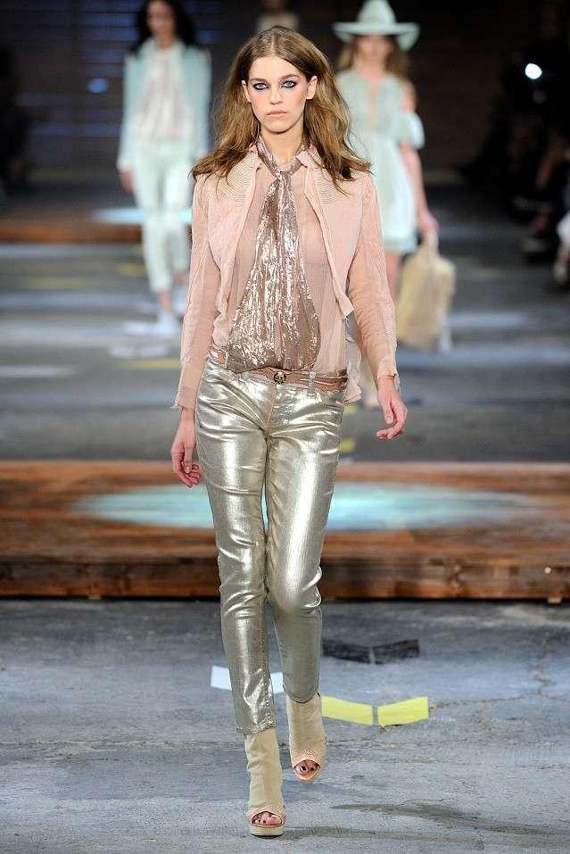 Jeans metallizzati Just Cavalli