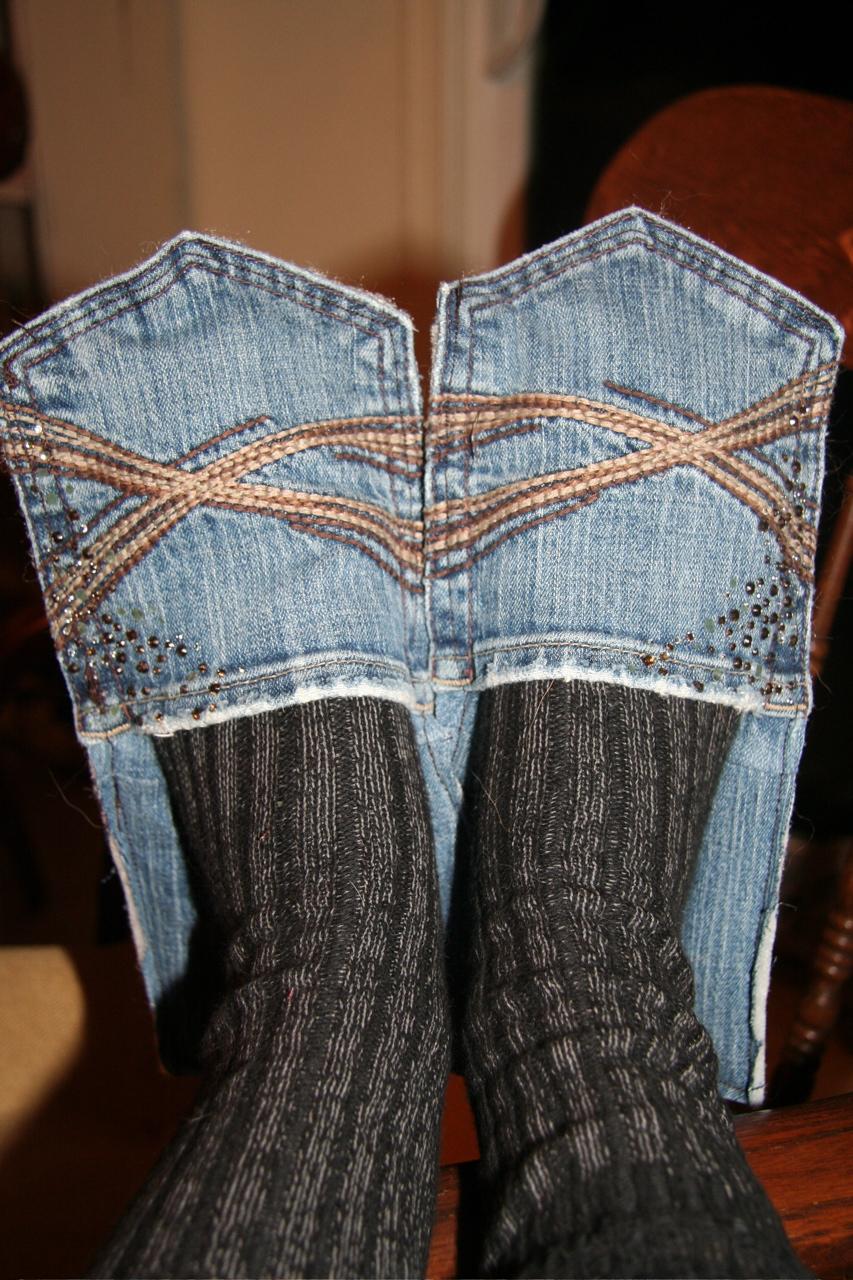 Riciclo creativo tasche jeans