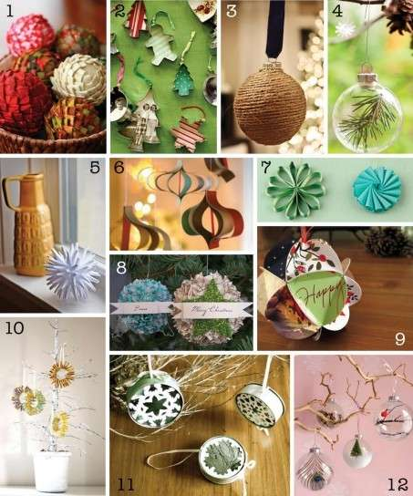 Addobbi natalizi fai da te: le palline per l'albero [FOTO]