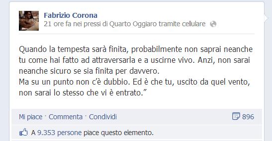 Corona latitante facebook