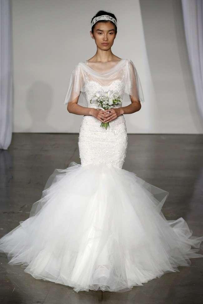 Abiti da sposa a sirena: i modelli più belli [FOTO]