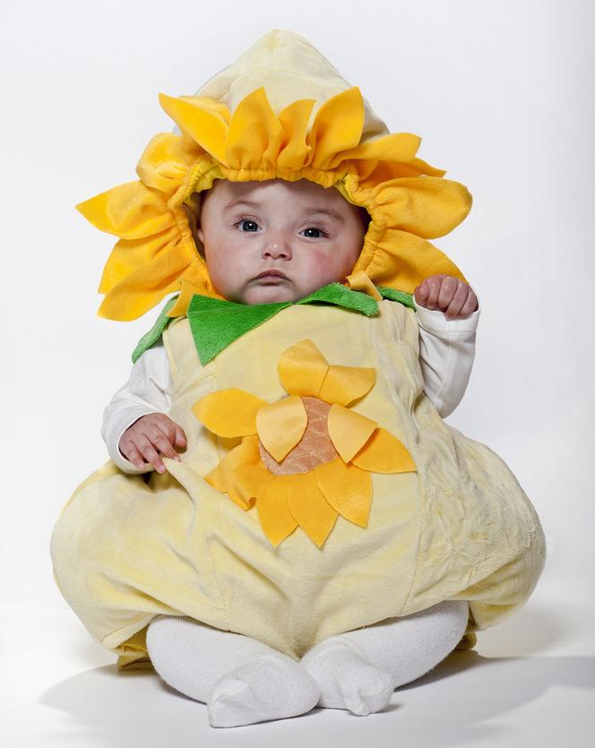 prenatal carnevale costume girasole