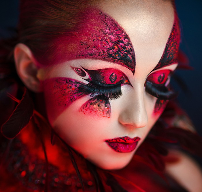 Trucco Carnevale sensuale