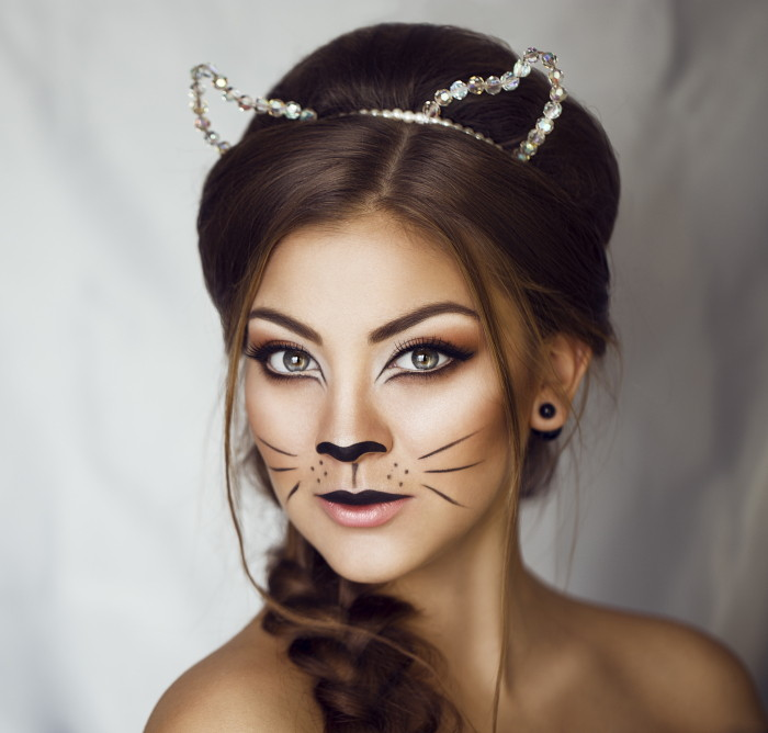 Trucco di Carnevale da gatta