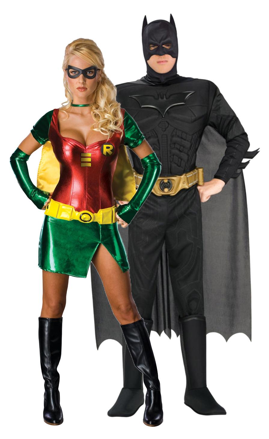 Costume-di-Carnevale-da-Batman-e-Robin
