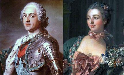 luigi xv e madame de pompadour