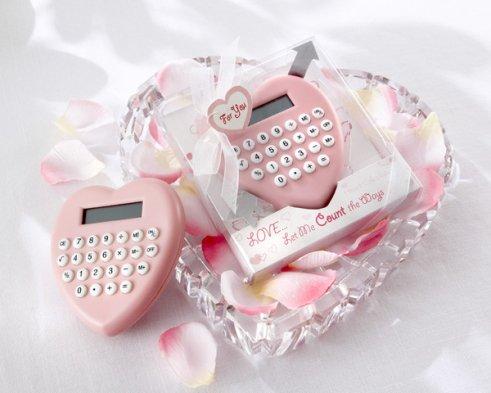 Bomboniere matrimonio calcolatrice