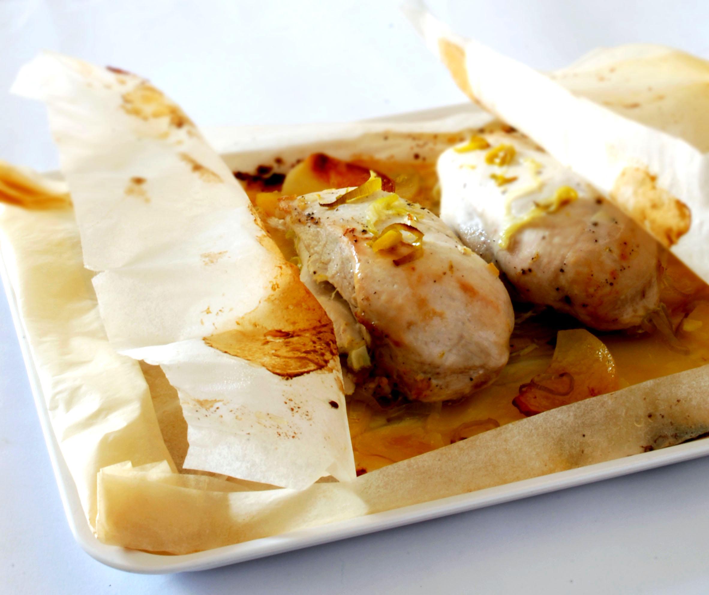 Cartoccio pollo dukan