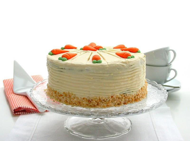 Dolci di Pasqua torta di carote