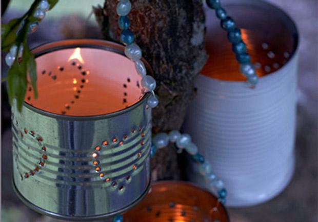 Lanterne Da Giardino Fai Da Te : Decorazioni per il giardino tante idee originali e fai da te